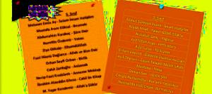 40 Şair 40 Şiir, Etkinlikleri Eser Listesi ve Afişi, 5. Sınıf, 40 Şair, 40 Şiir, taceddin veli, iam hatip, lisesi