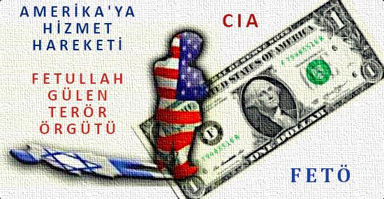 amerikaya, hizmet hareketi, FETO, CIA