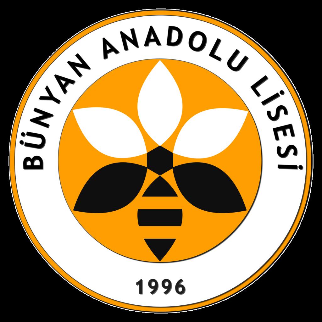 bünyan anadolu lisesi logosu, BAL, orta beyaz