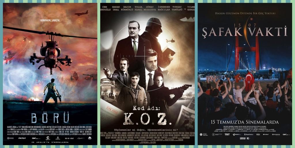 15 Temmuz ve FETÖ Konulu Filmler