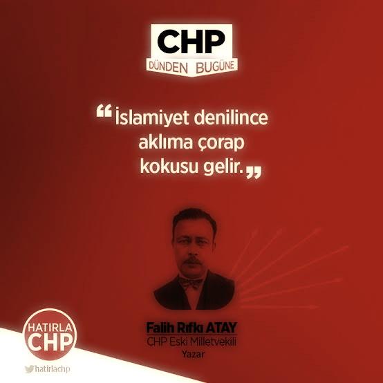 falih rıfkı atay, islam düşmanı yazar